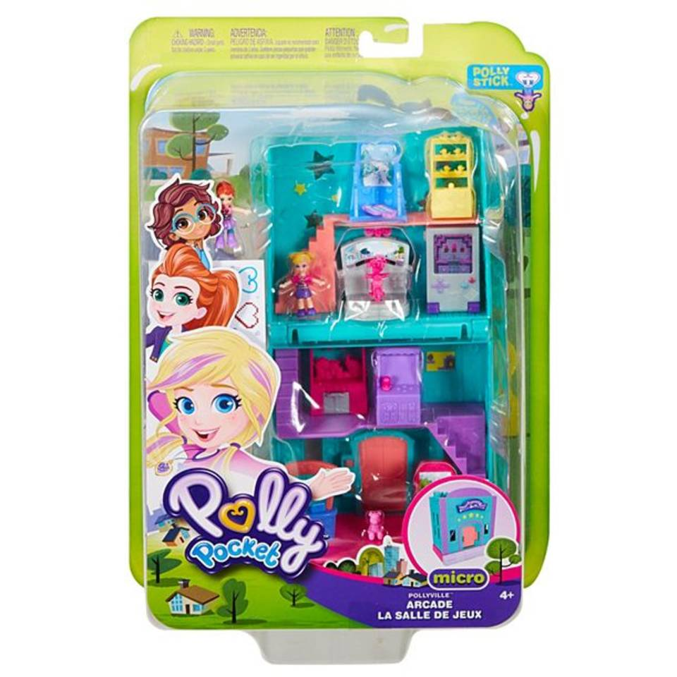 Polly Pocket Pollyville zuilengang