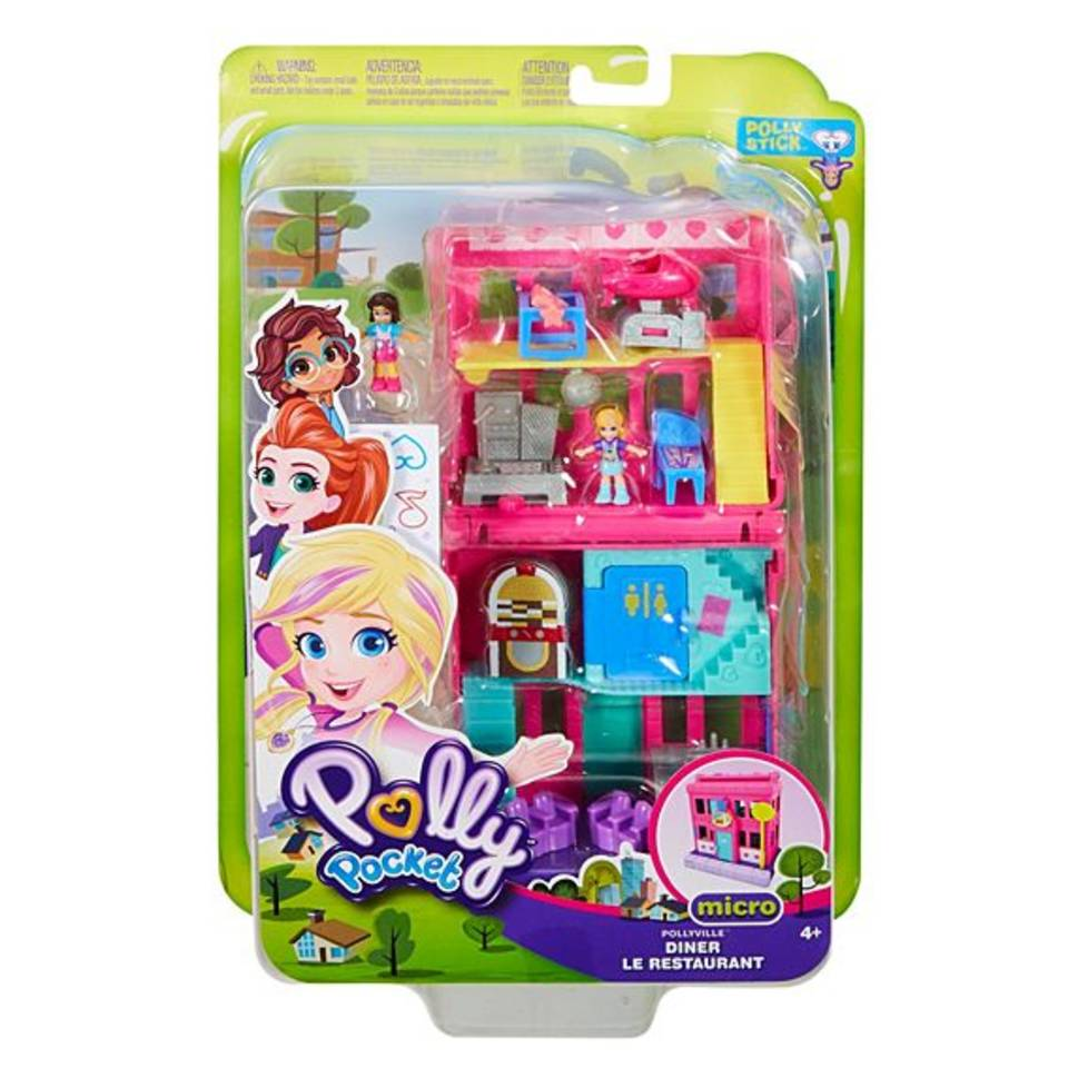 Polly Pocket Pollyville pit stop