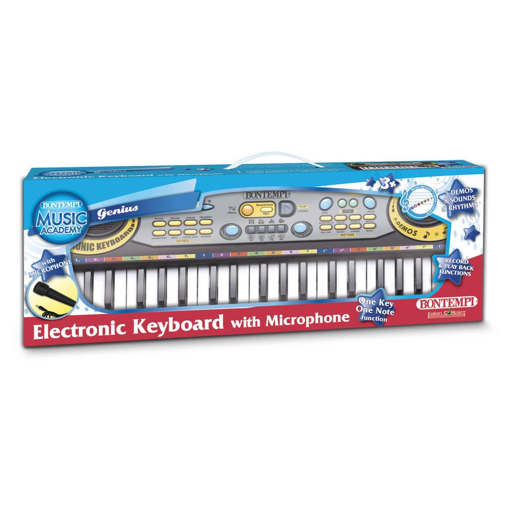 Bontempi elektronisch keyboard met microfoon