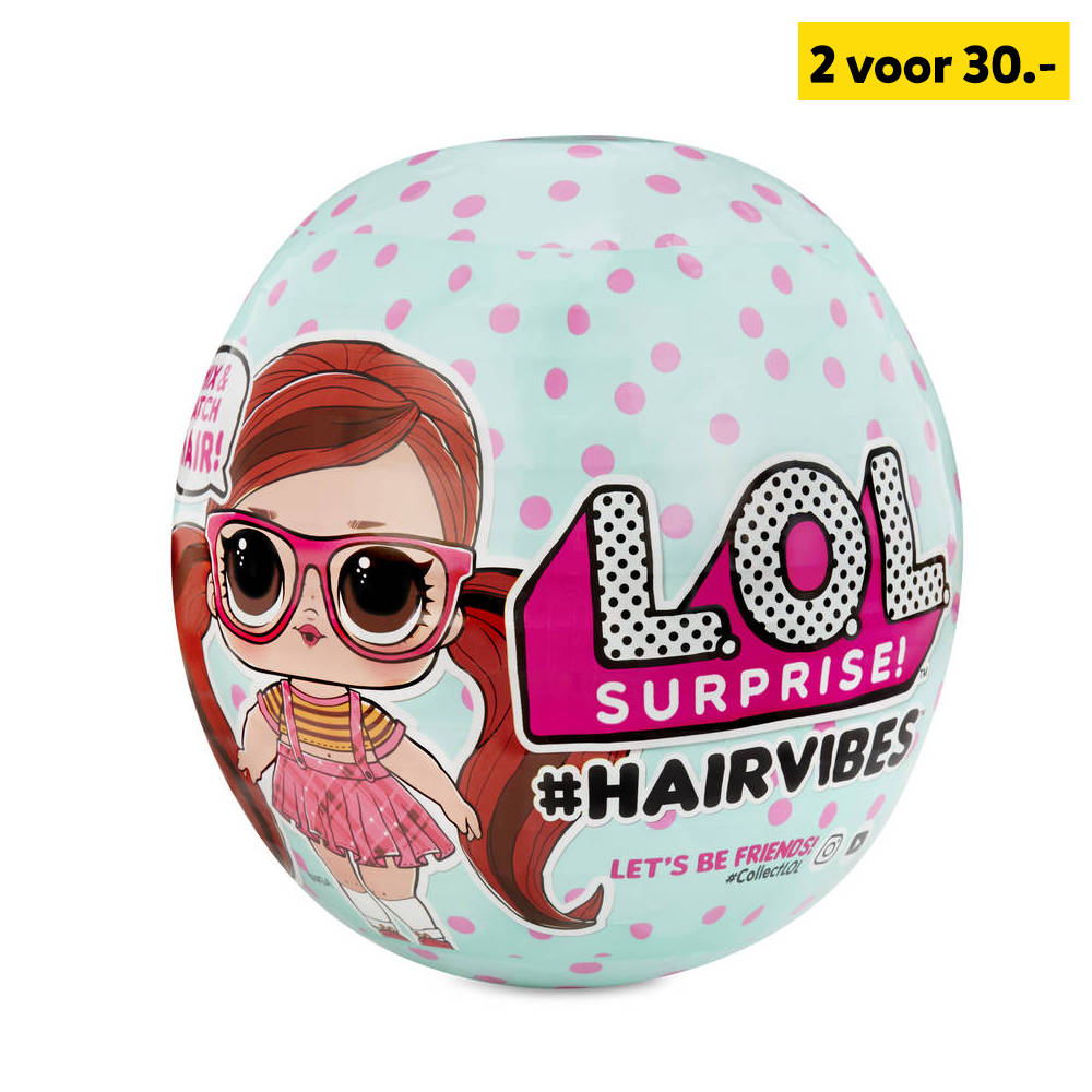L.O.L. Surprise! #Hairvibes pop Serie A