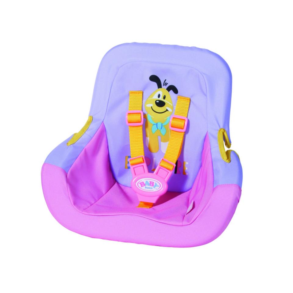BABY born autostoeltje - roze/paars