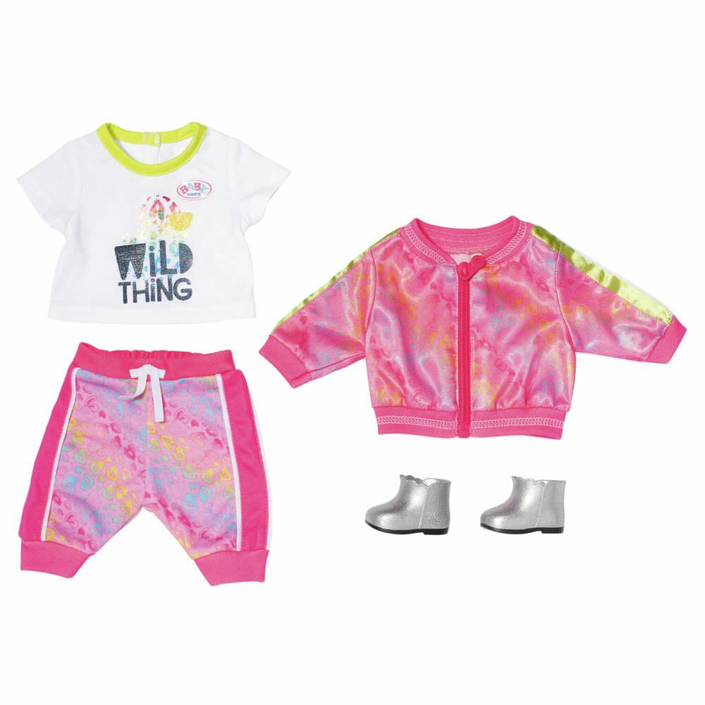 BABY born deluxe trendy roze set - 43 cm