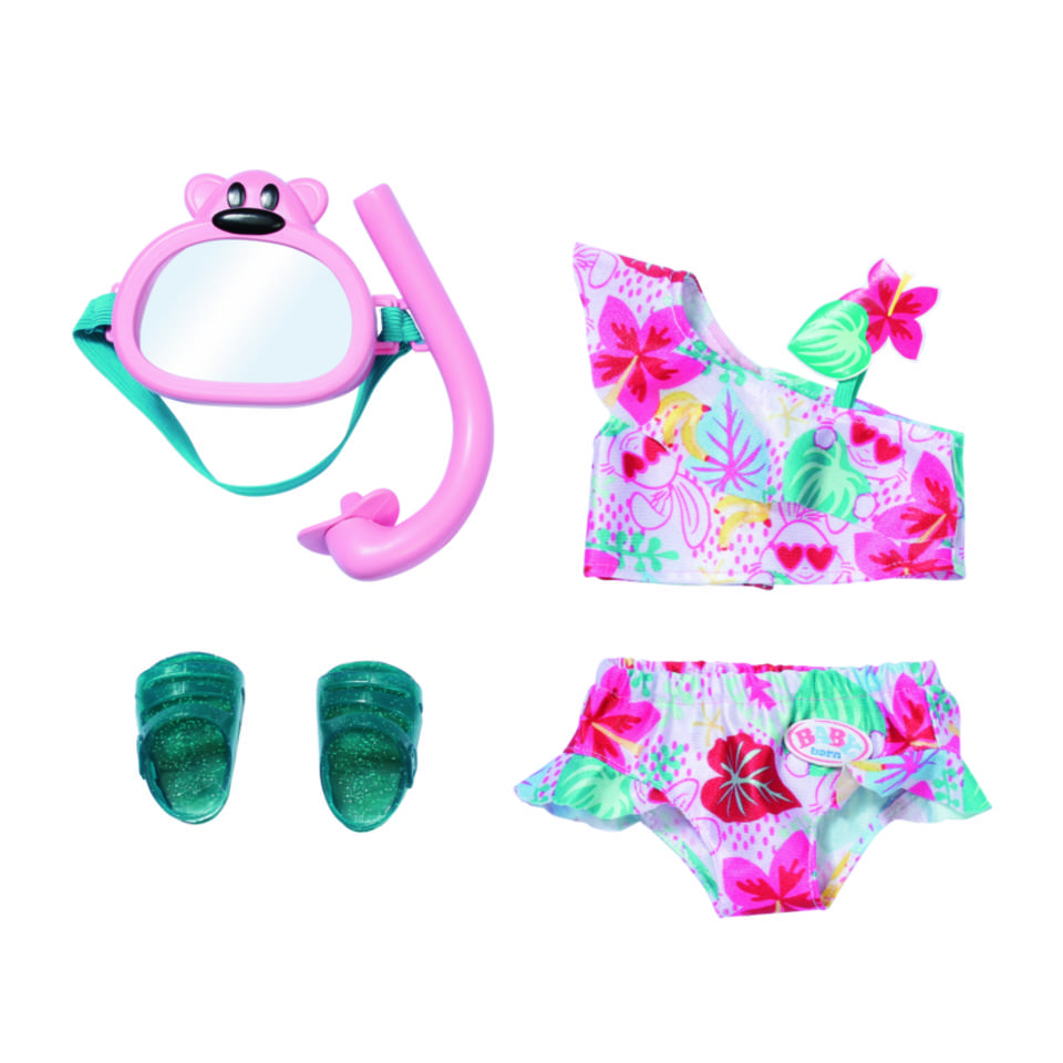 BABY born Holiday deluxe bikini set - 43 cm