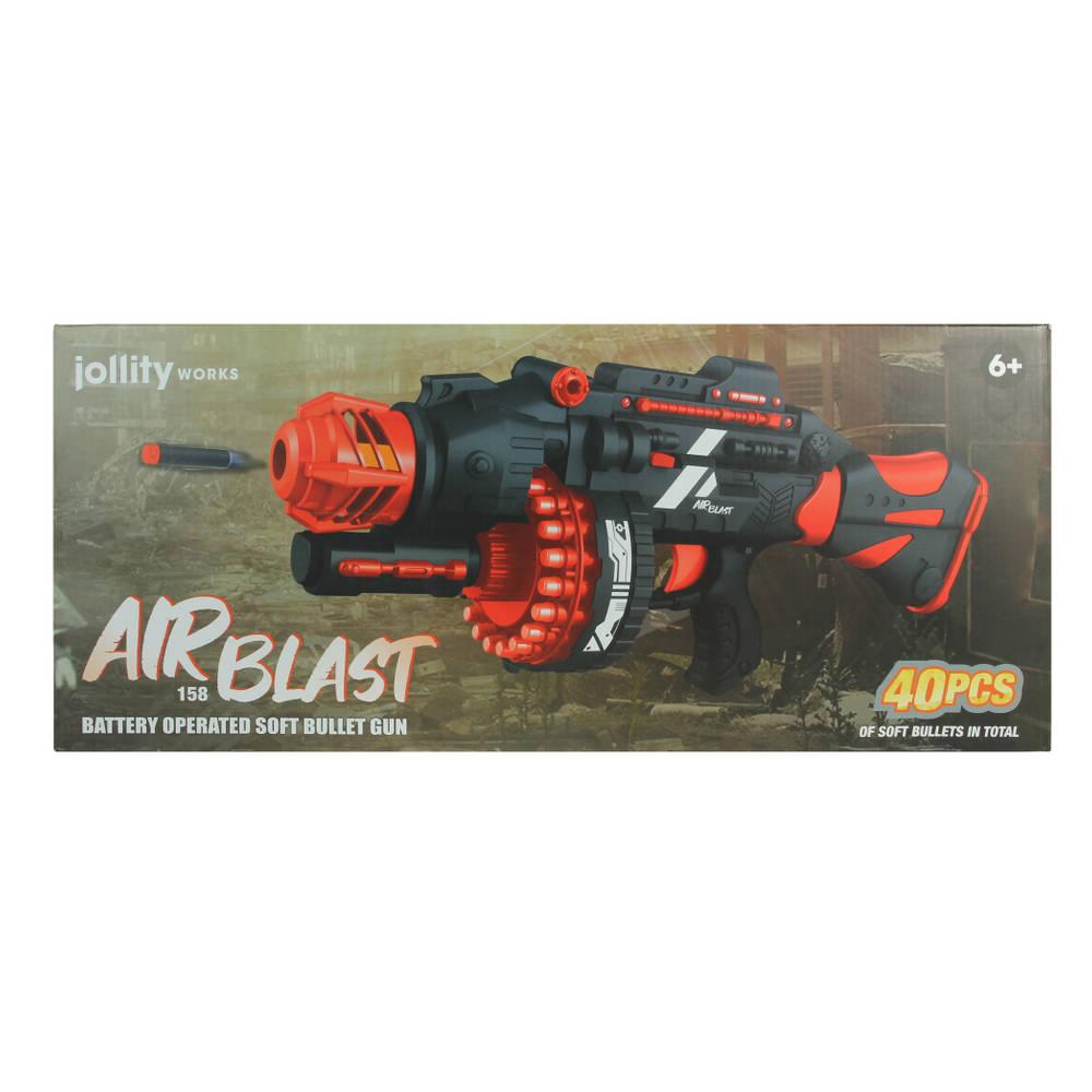 Airblast elektrisch machinegeweer blaster