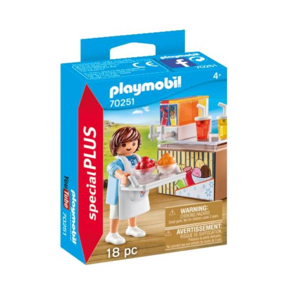 PLAYMOBIL Special Plus slush-verkoper 70251