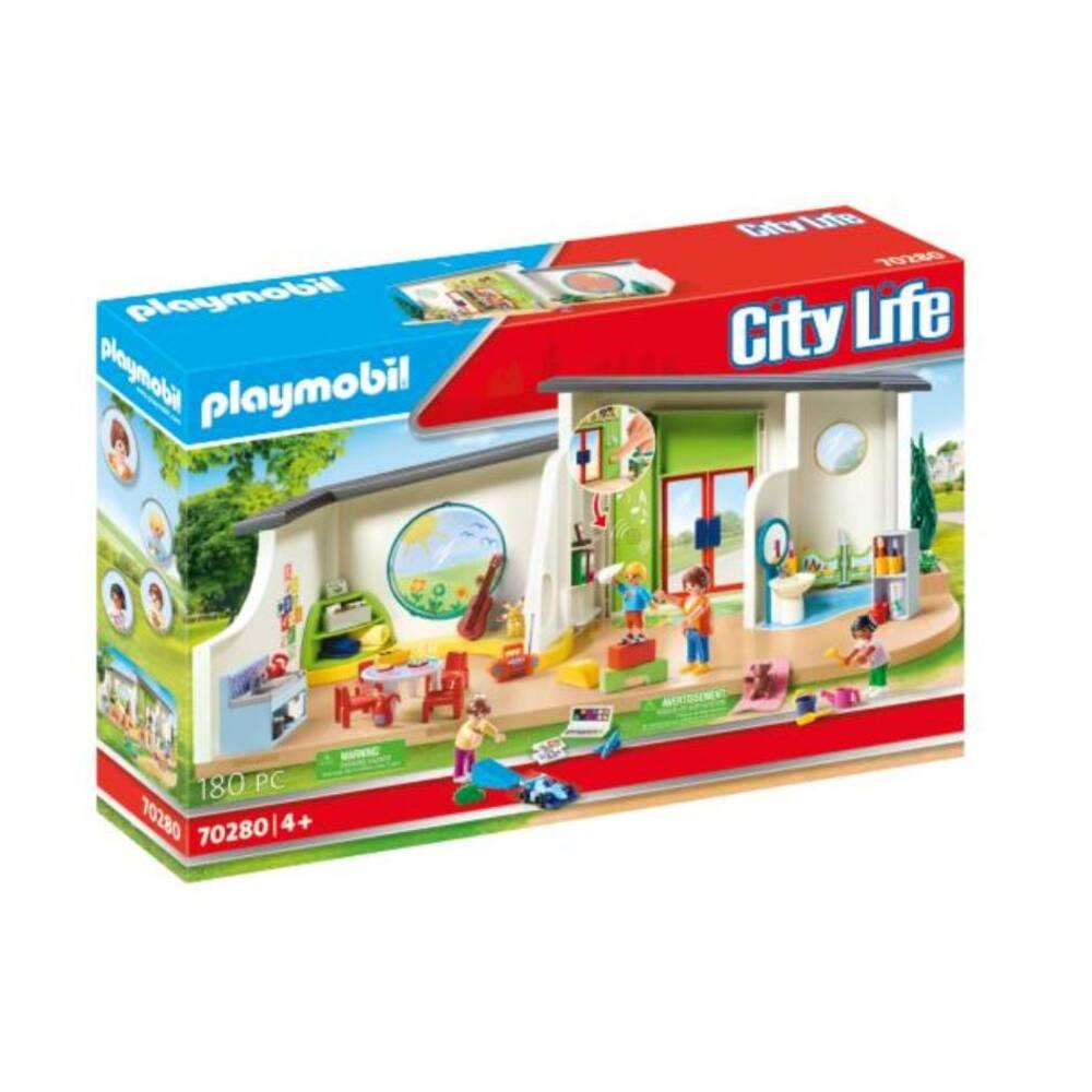 PLAYMOBIL City Life kinderdagverblijf De regenboog 70280