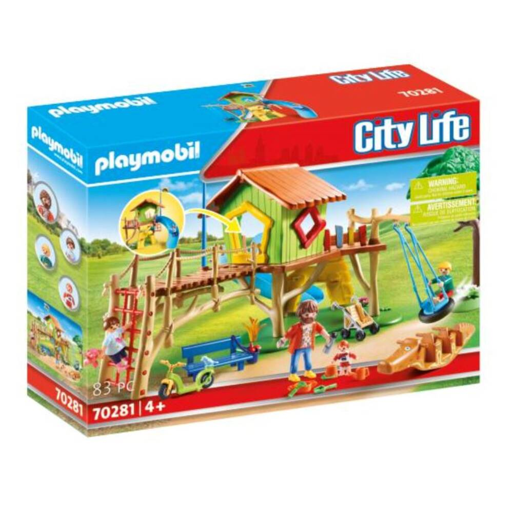 PLAYMOBIL City Life avontuurlijke speeltuin 70281