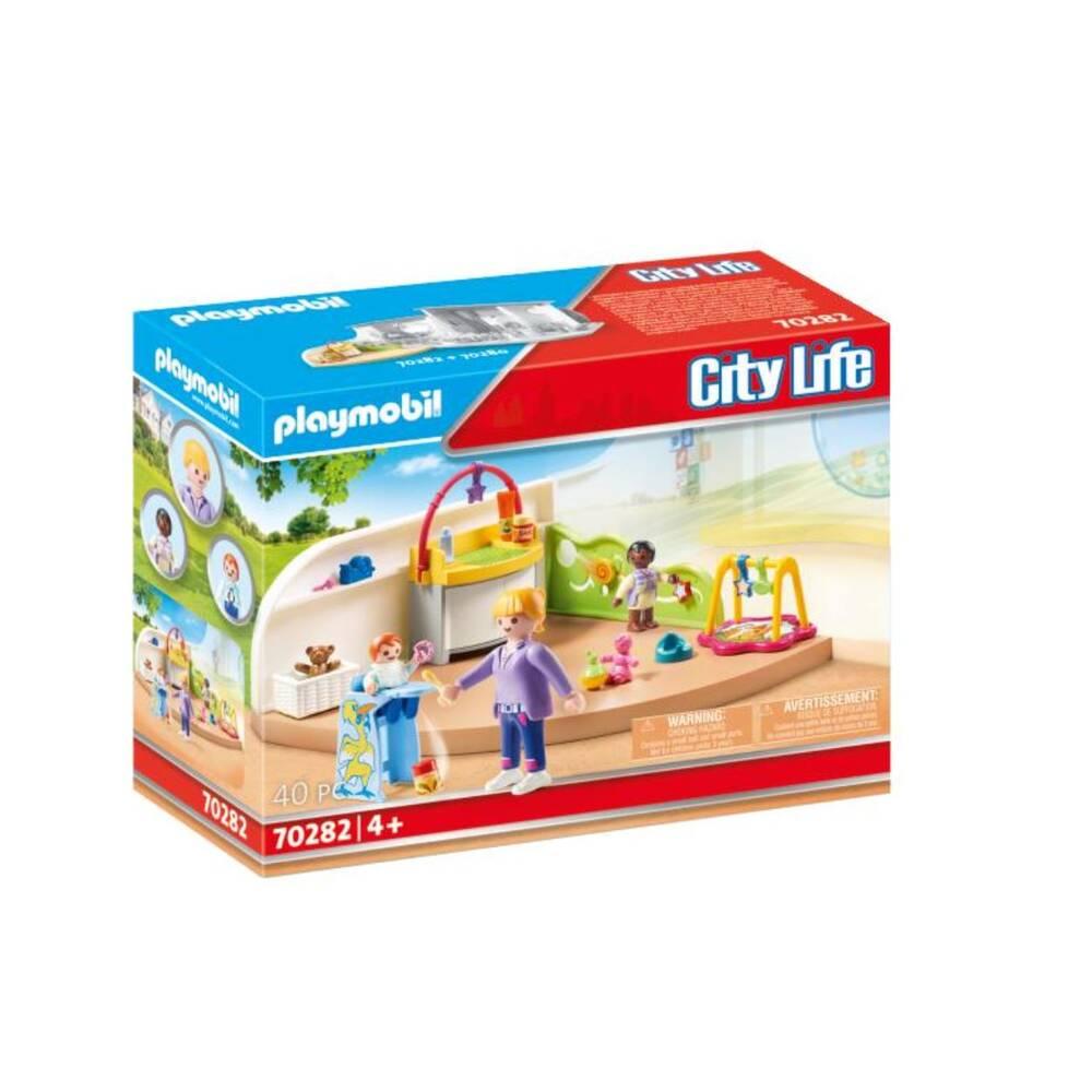 PLAYMOBIL City Life peutergroep 70282