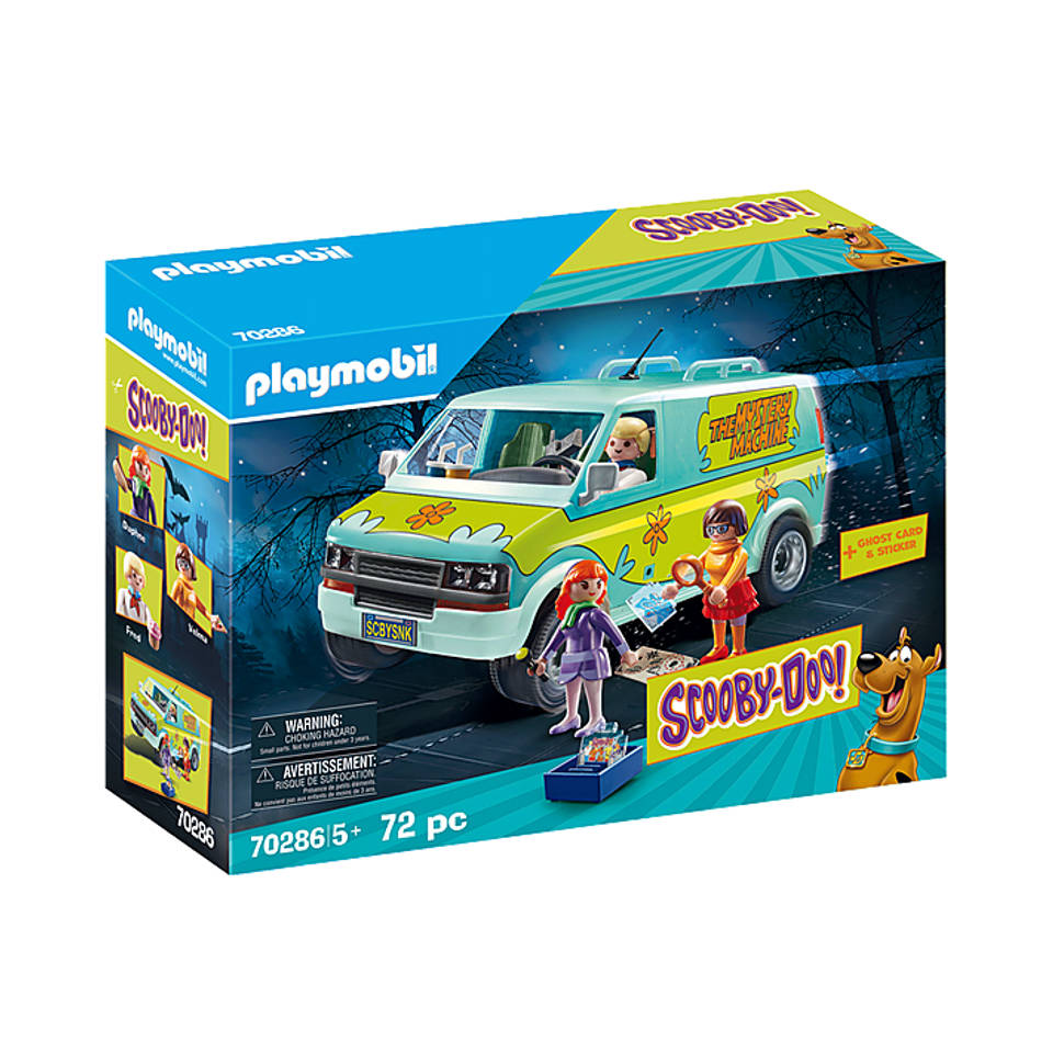 PLAYMOBIL Scooby-Doo! Mystery Machine 70286