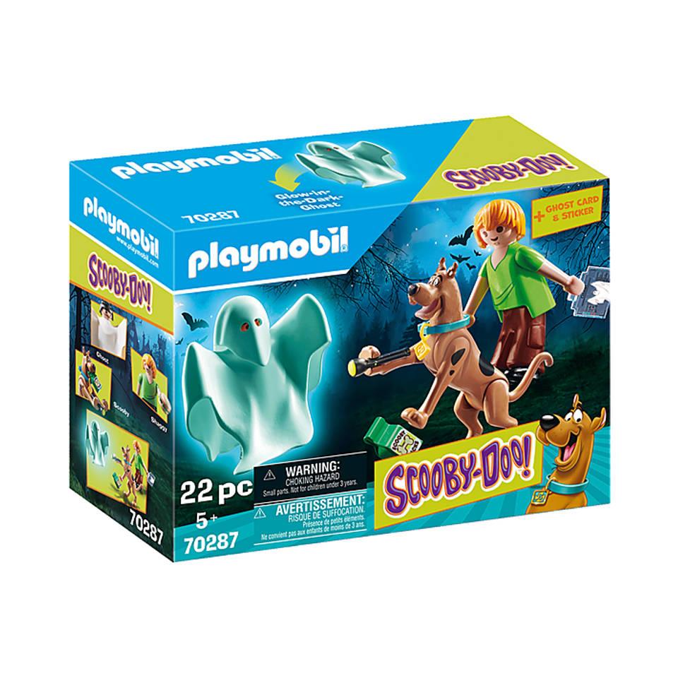 PLAYMOBIL Scooby-Doo! Scooby en Shaggy met geest 70287
