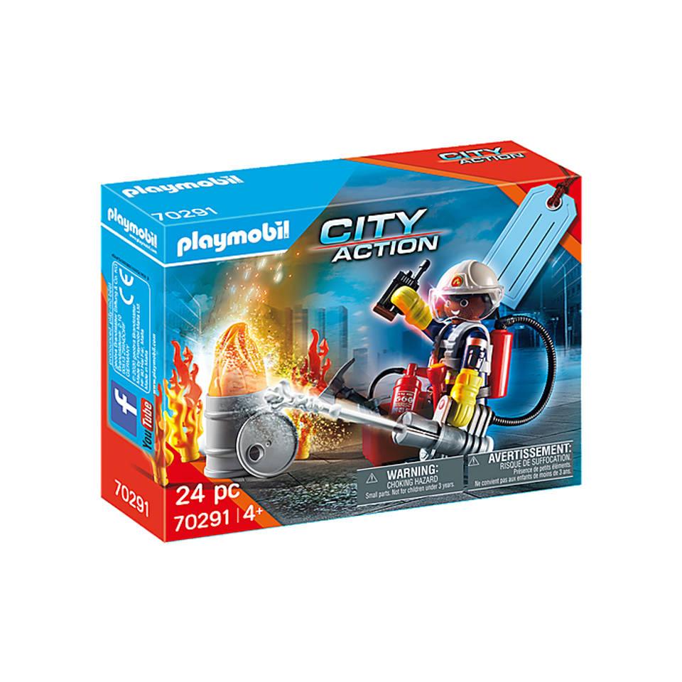 PLAYMOBIL City Action cadeauset brandweer 70291