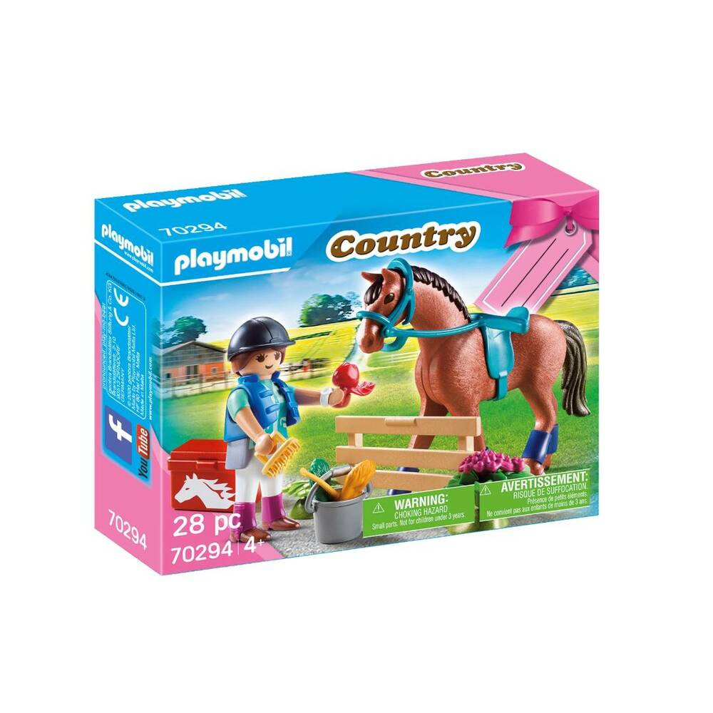 PLAYMOBIL Country cadeauset paarden 70294