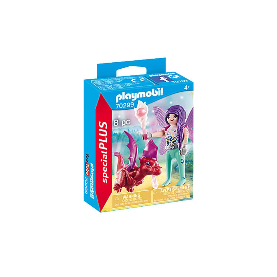 PLAYMOBIL Special Plus fee met drakenbaby 70299