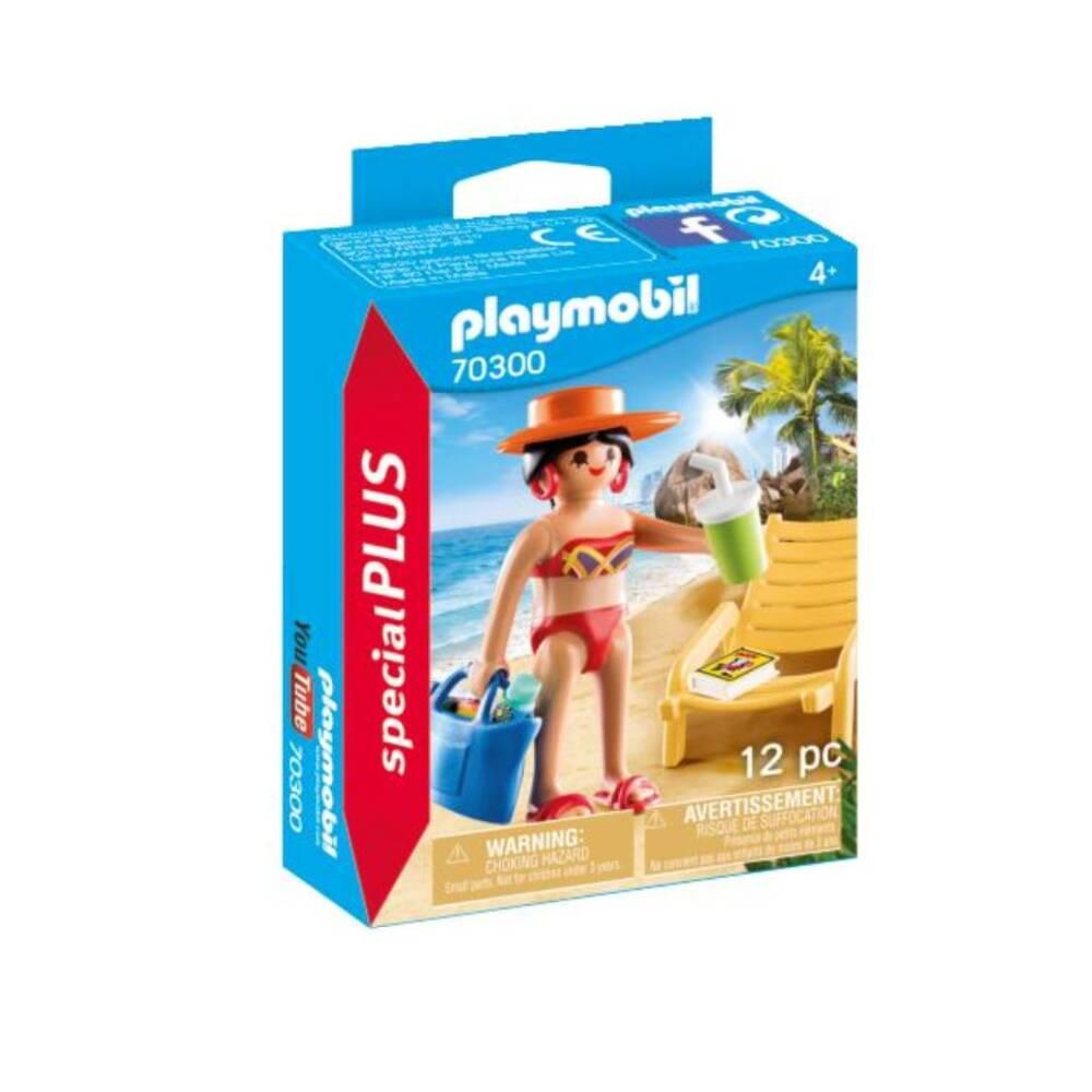 PLAYMOBIL SpecialPLUS vakantieganger met strandstoel 70300