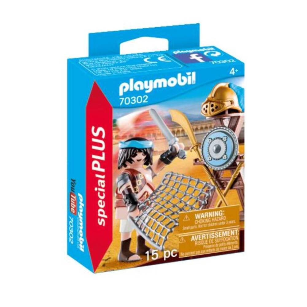 PLAYMOBIL SpecialPLUS gladiator met wapens 70302