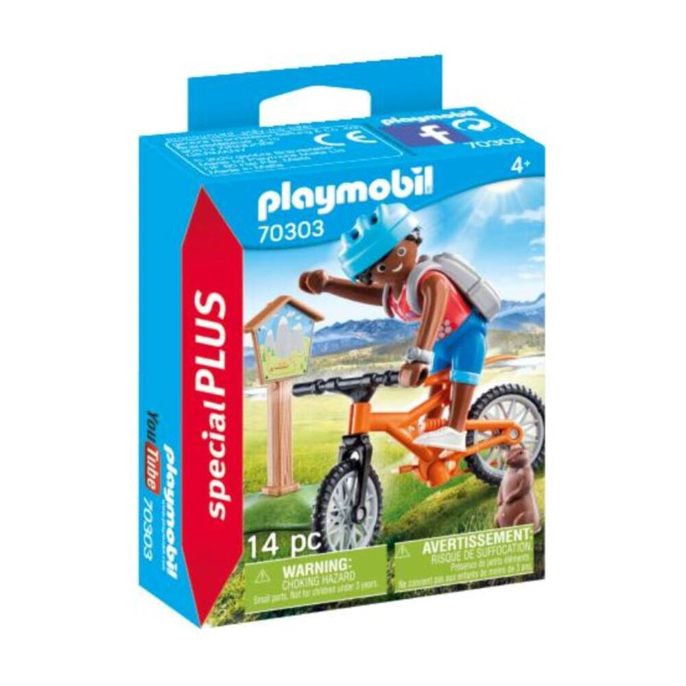 PLAYMOBIL SpecialPLUS mountainbiker 70303