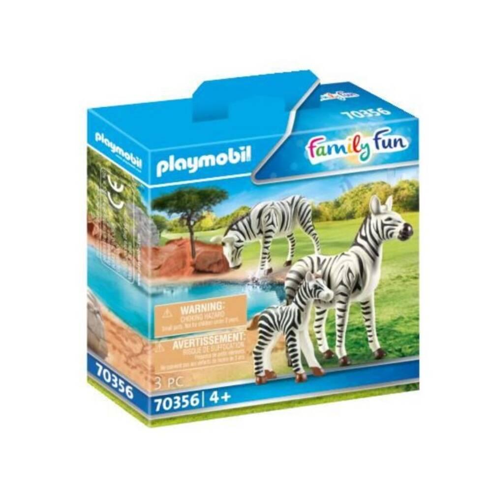 PLAYMOBIL Family Fun zebra's met baby 70356