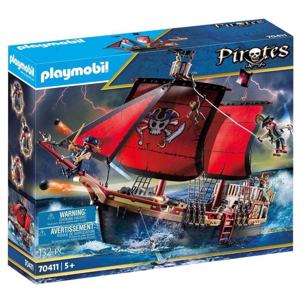 PLAYMOBIL Pirates piratenschip 70411