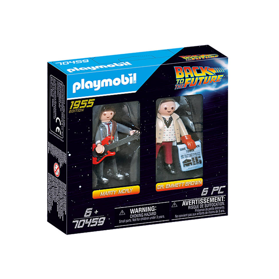 PLAYMOBIL Back to the Future DuoPack Marty McFly en Dr. Emmet Brown 70459