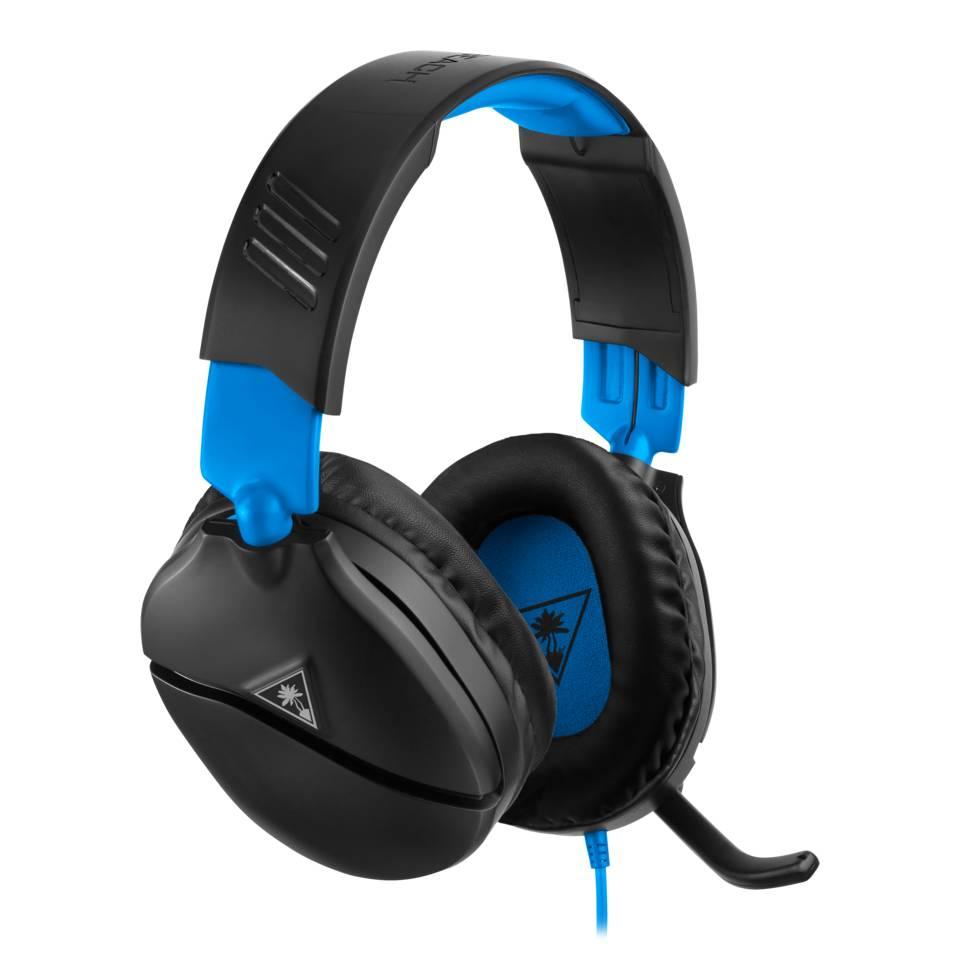 Turtle Beach Recon 70 koptelefoon - zwart/blauw
