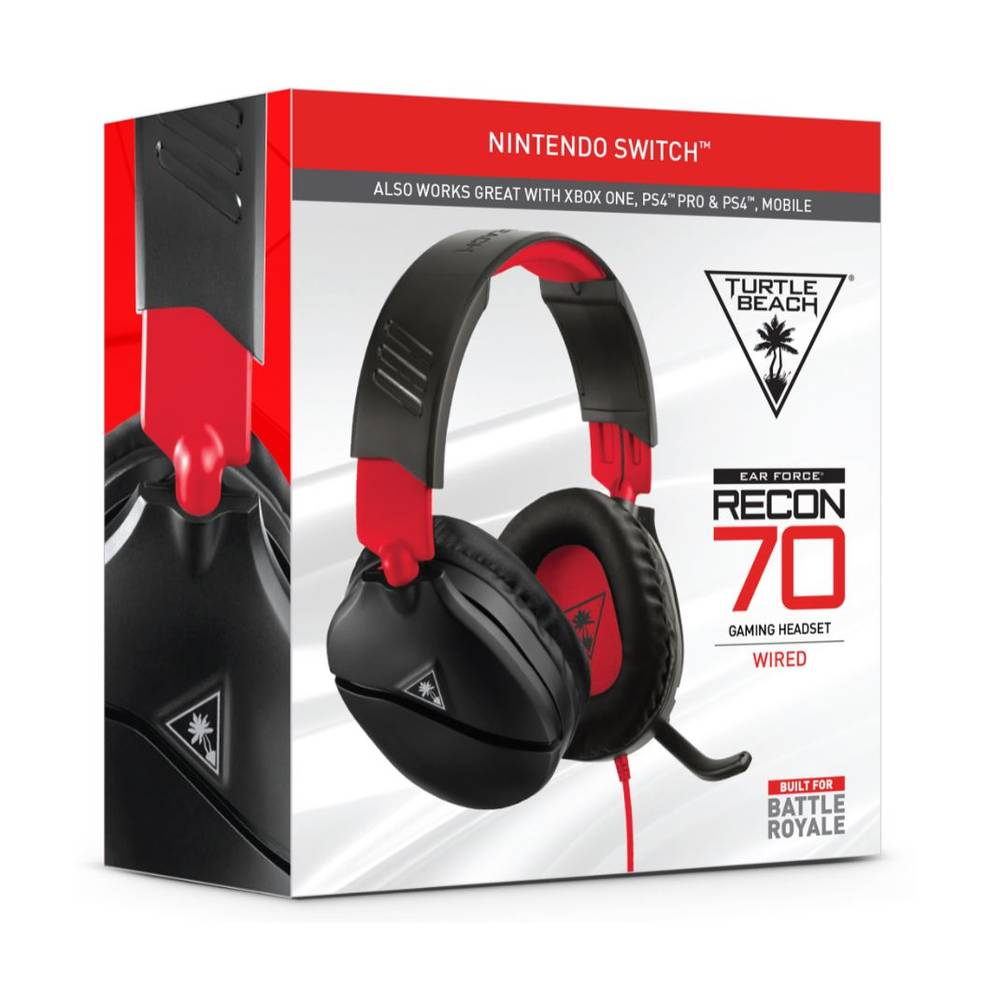 Nintendo Switch Turtle Beach Recon 70 gaming headset