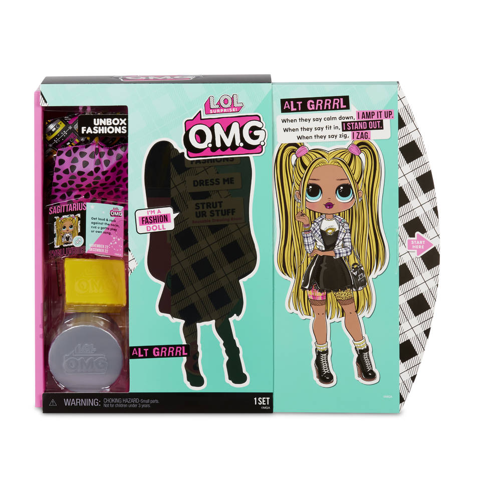 L.O.L. Surprise! O.M.G. modepop serie 2 Alt Grrrl
