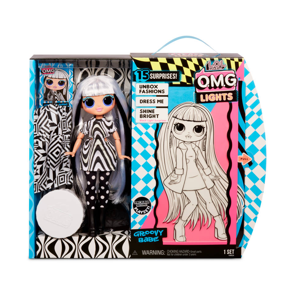 L.O.L. Surprise! OMG Doll Lights Series modepop Groovy Babe