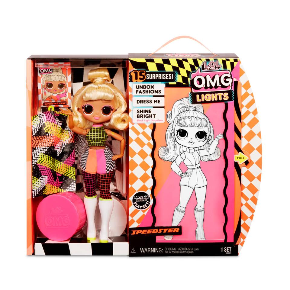 L.O.L. Surprise! OMG Doll Lights Series modepop Speedster