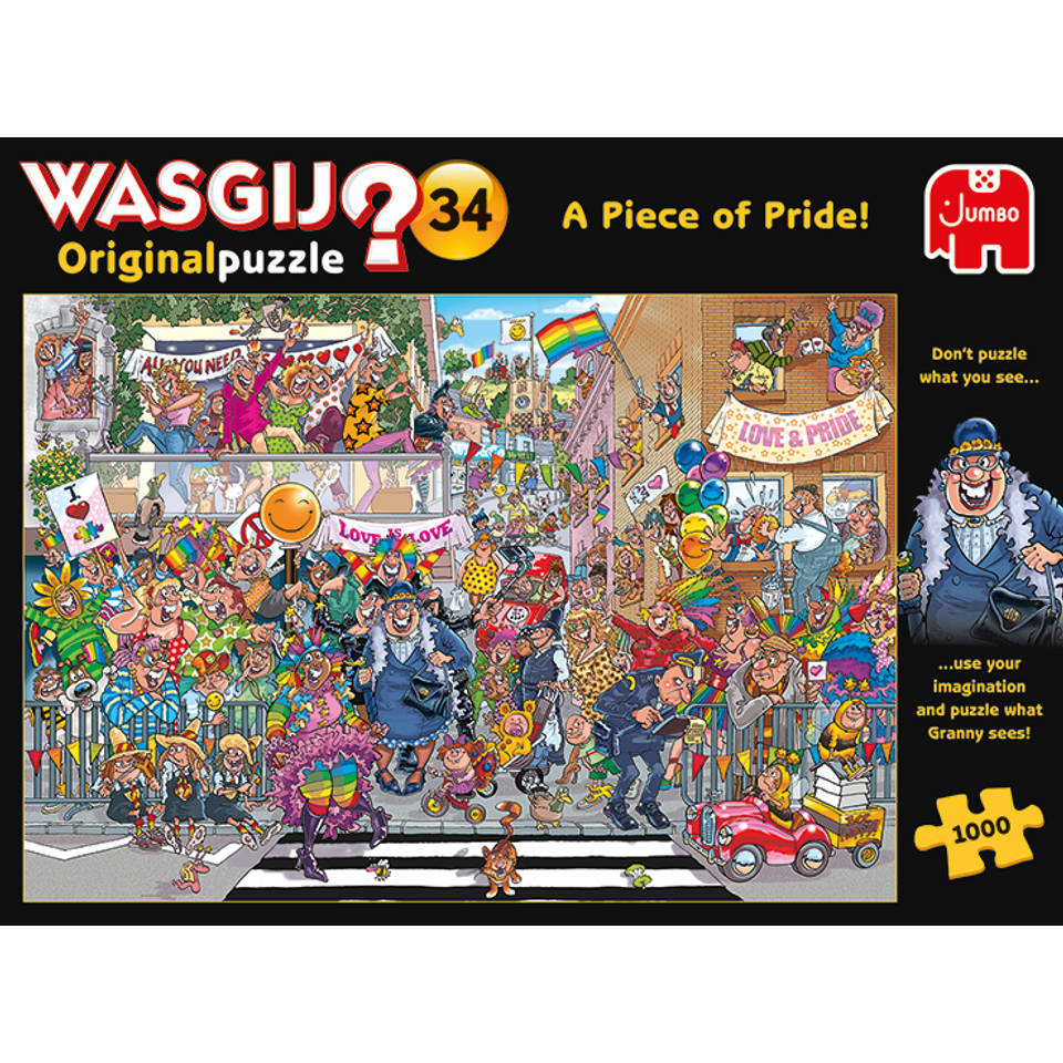 Jumbo Wasgij Original 34 Een stukje trots - 1000 stukjes