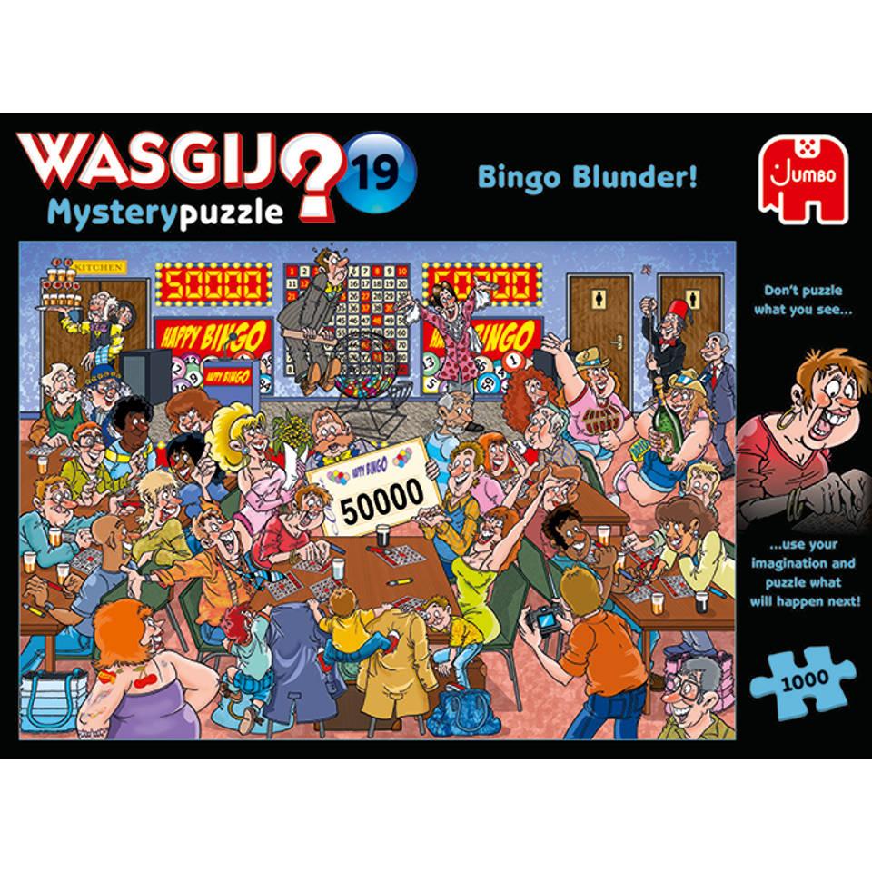 Jumbo Wasgij Mystery 19 Bingo puzzel - 1000 stukjes