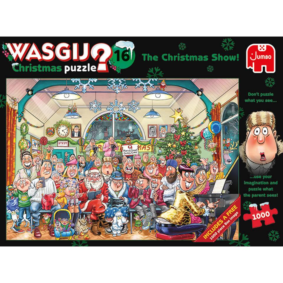 Jumbo Wasgij Christmas 16 puzzel - 2 x 1000 stukjes