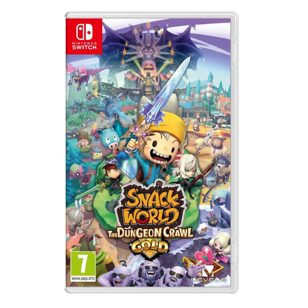 Nintendo Switch Snack World: The Dungeon Crawl Gold Edition