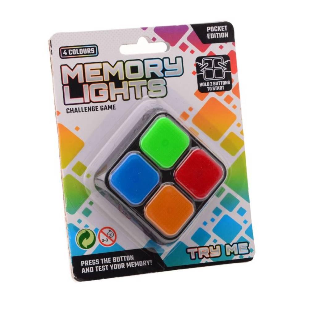 Memospel pocket editie met licht en geluid