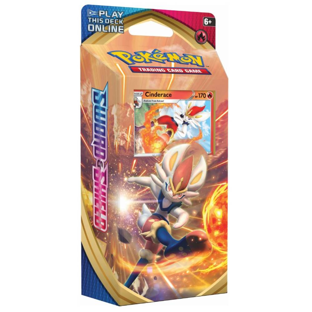Pokémon TCG Sword & Shield themadeck Cinderace