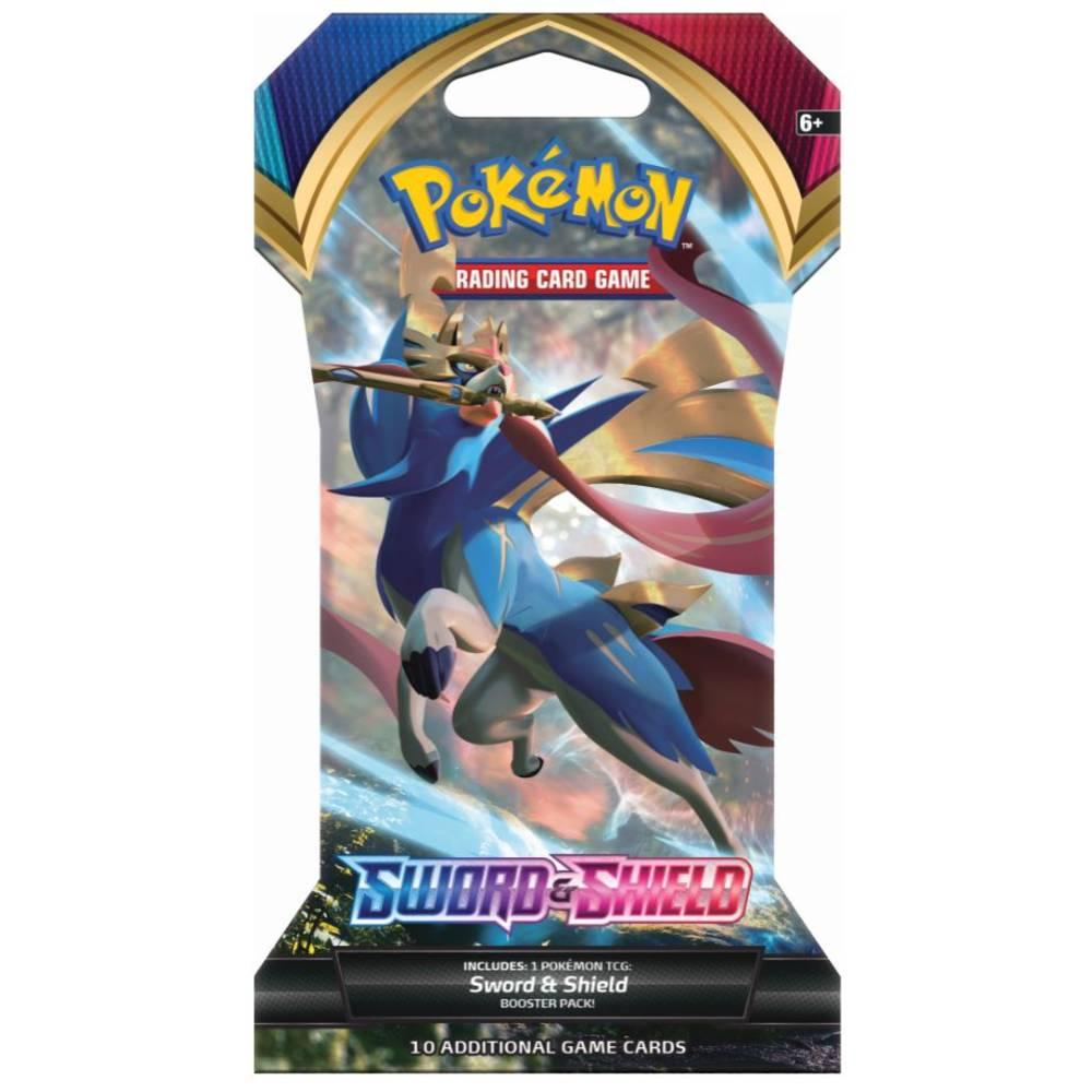 Pokémon TCG Sword & Shield sleeved booster