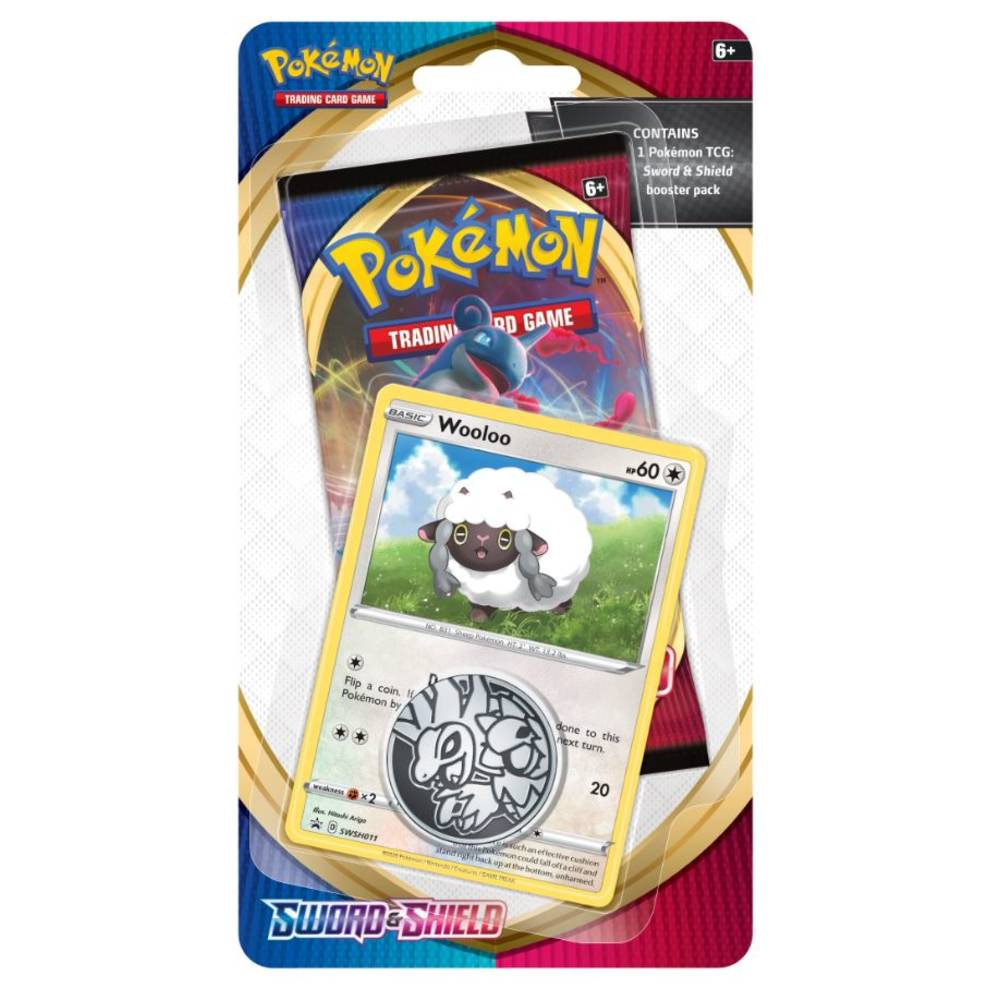 Pokémon TCG Sword & Shield checklane blister Wooloo