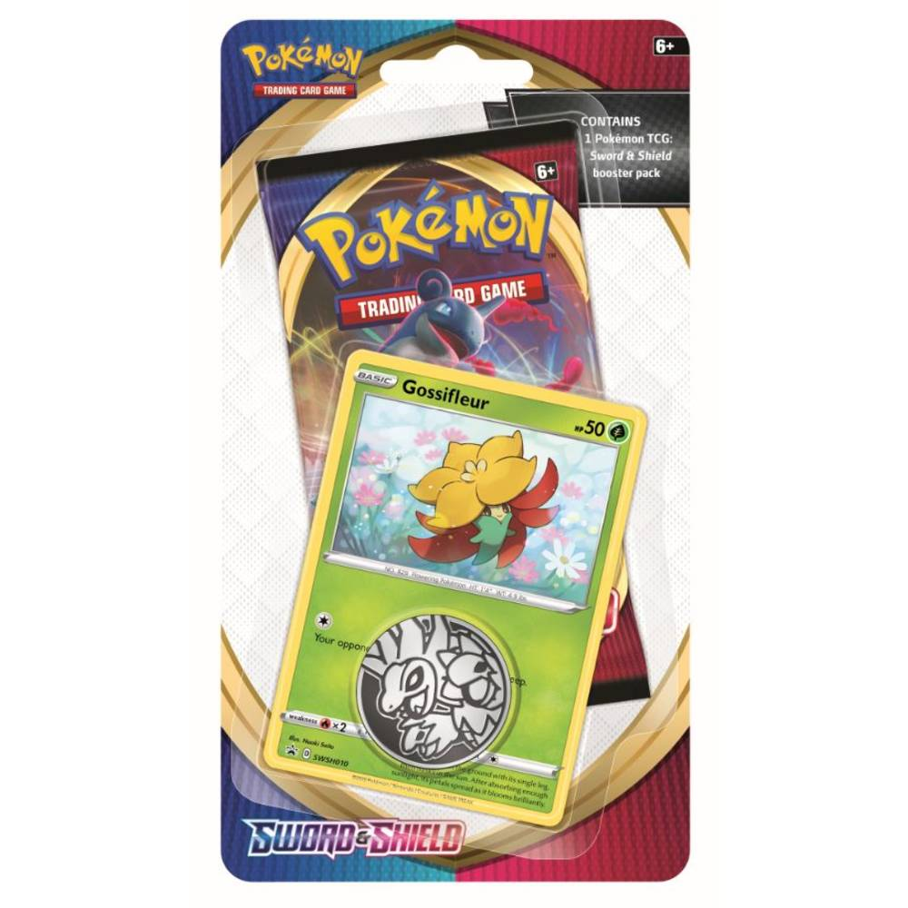 Pokémon TCG Sword & Shield checklane blister Gossifleur