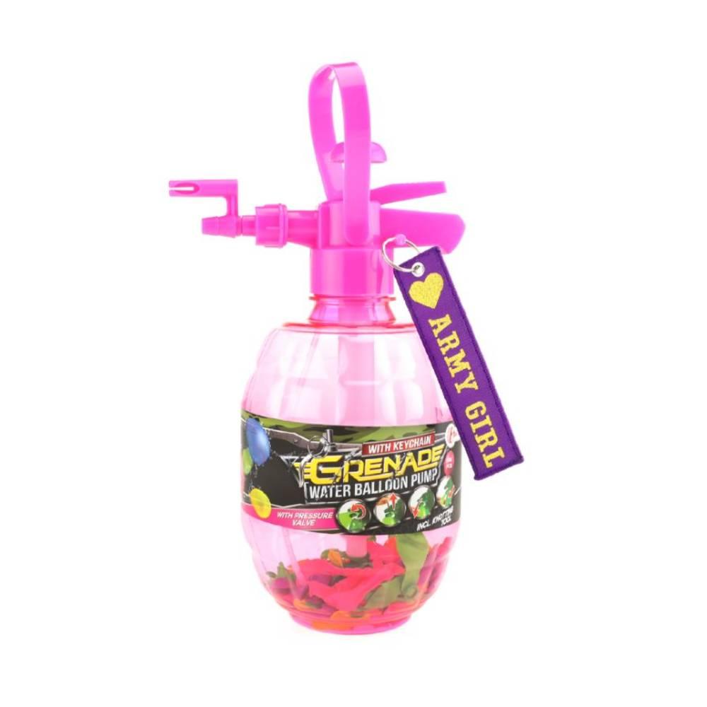 Splash waterballonpomp met 100 ballonnen