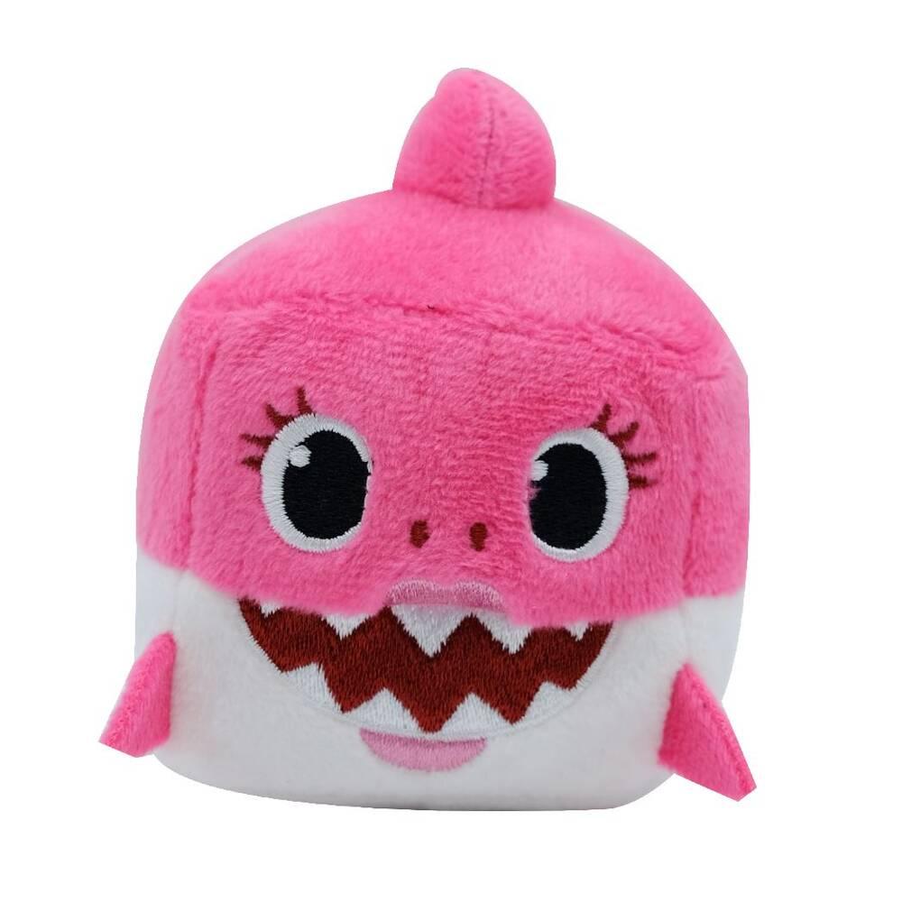 Baby Shark vierkante knuffel met geluid