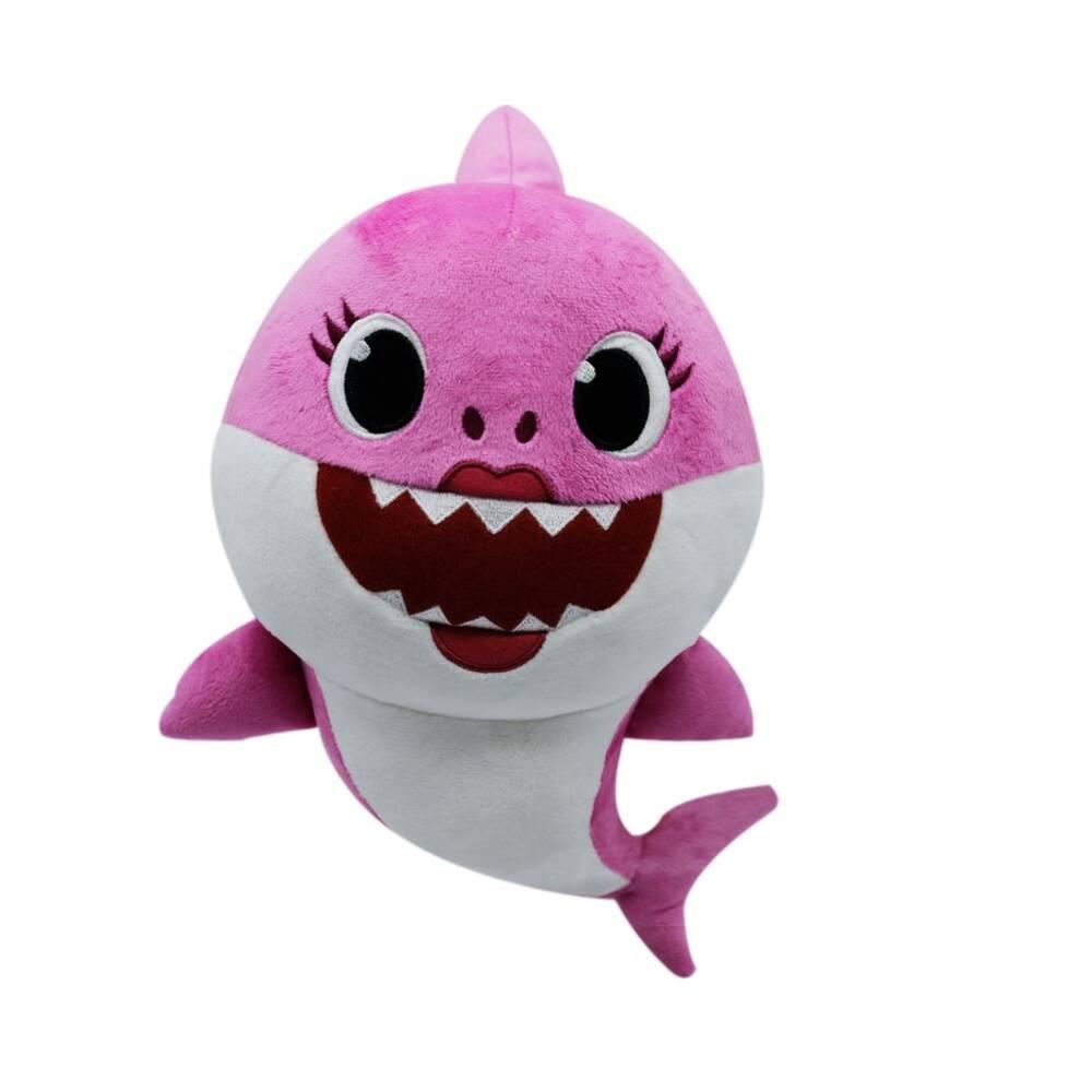 Baby Shark knuffel met muziek Mommy Shark