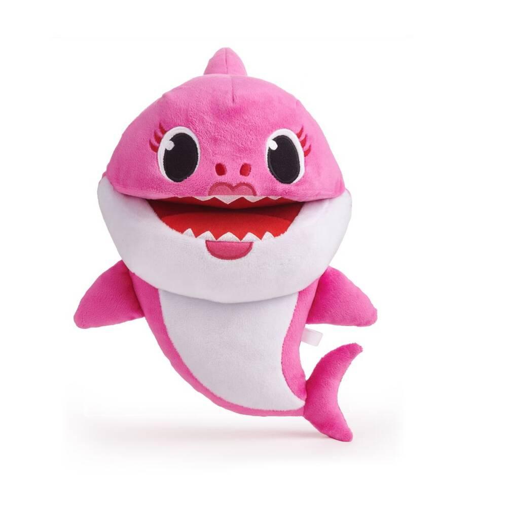 Baby Shark handpop met geluid Mommy Shark
