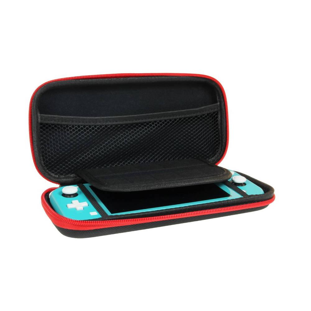 Nintendo Switch Lite beschermhoes - zwart/rood