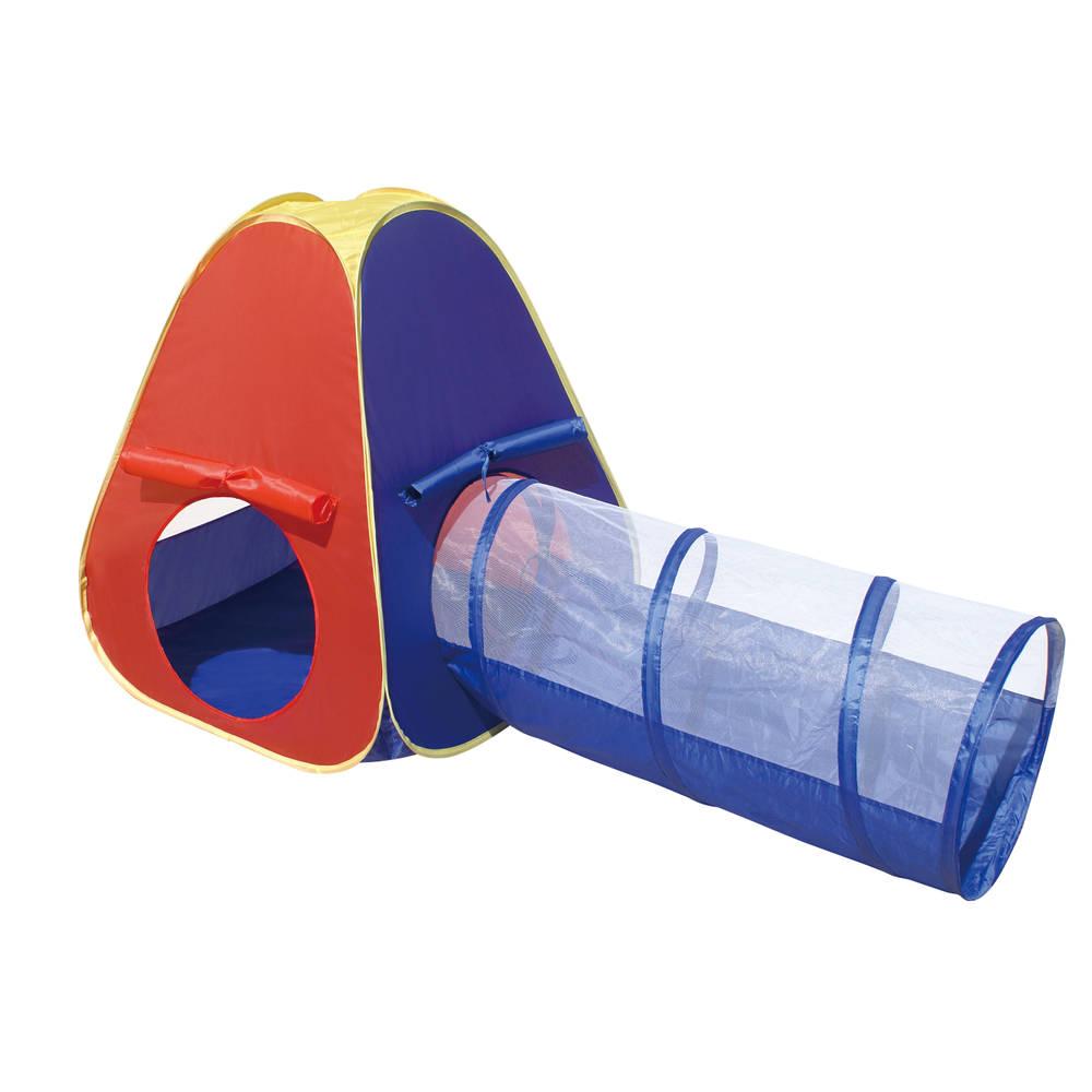 Playfun pop-up speeltent met tunnel