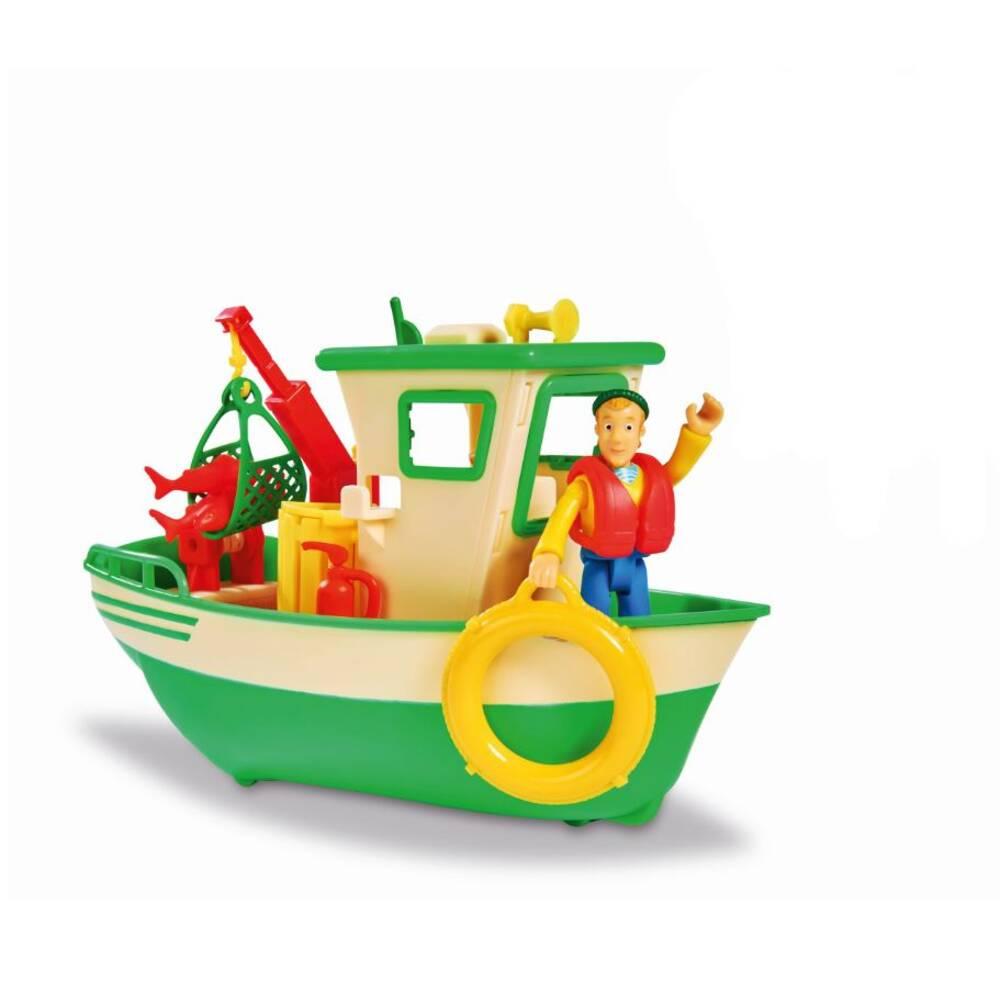 Simba Brandweerman Sam Charlies vissersboot met figuur