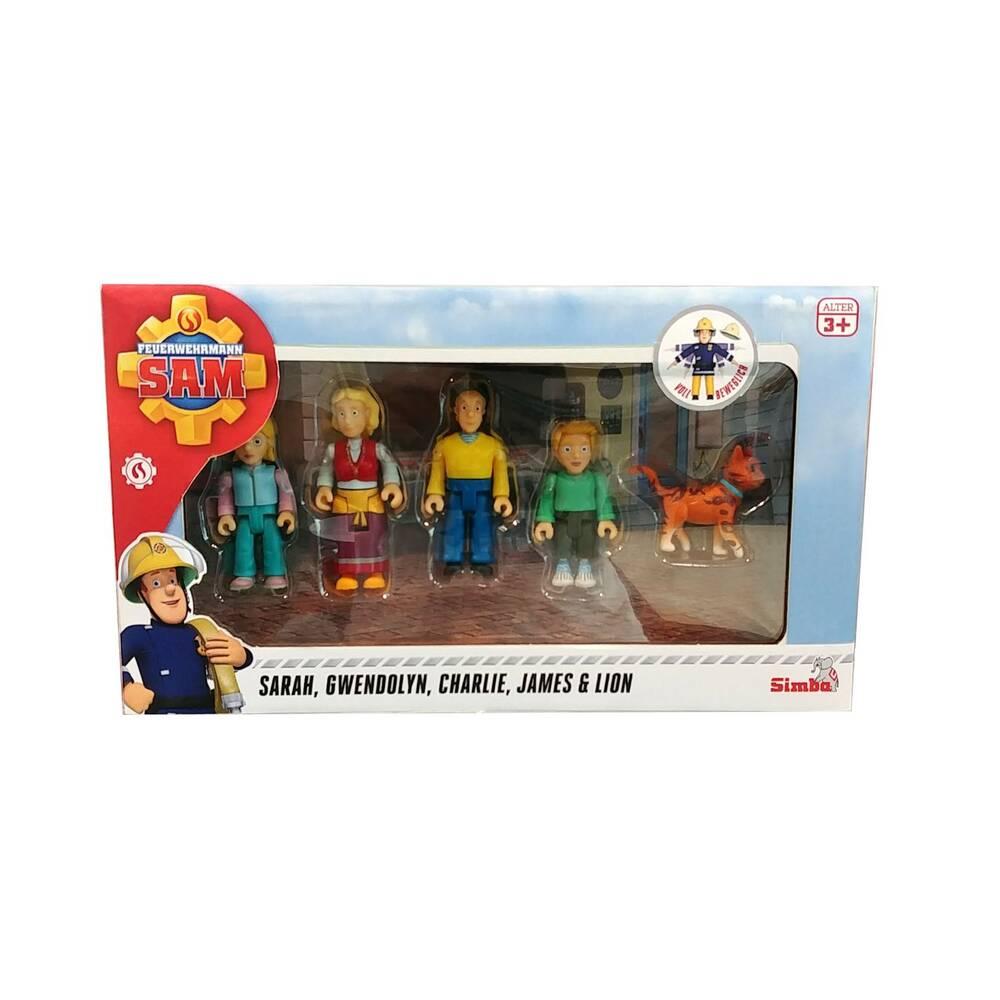 Simba Brandweerman Sam Jones set met figuren