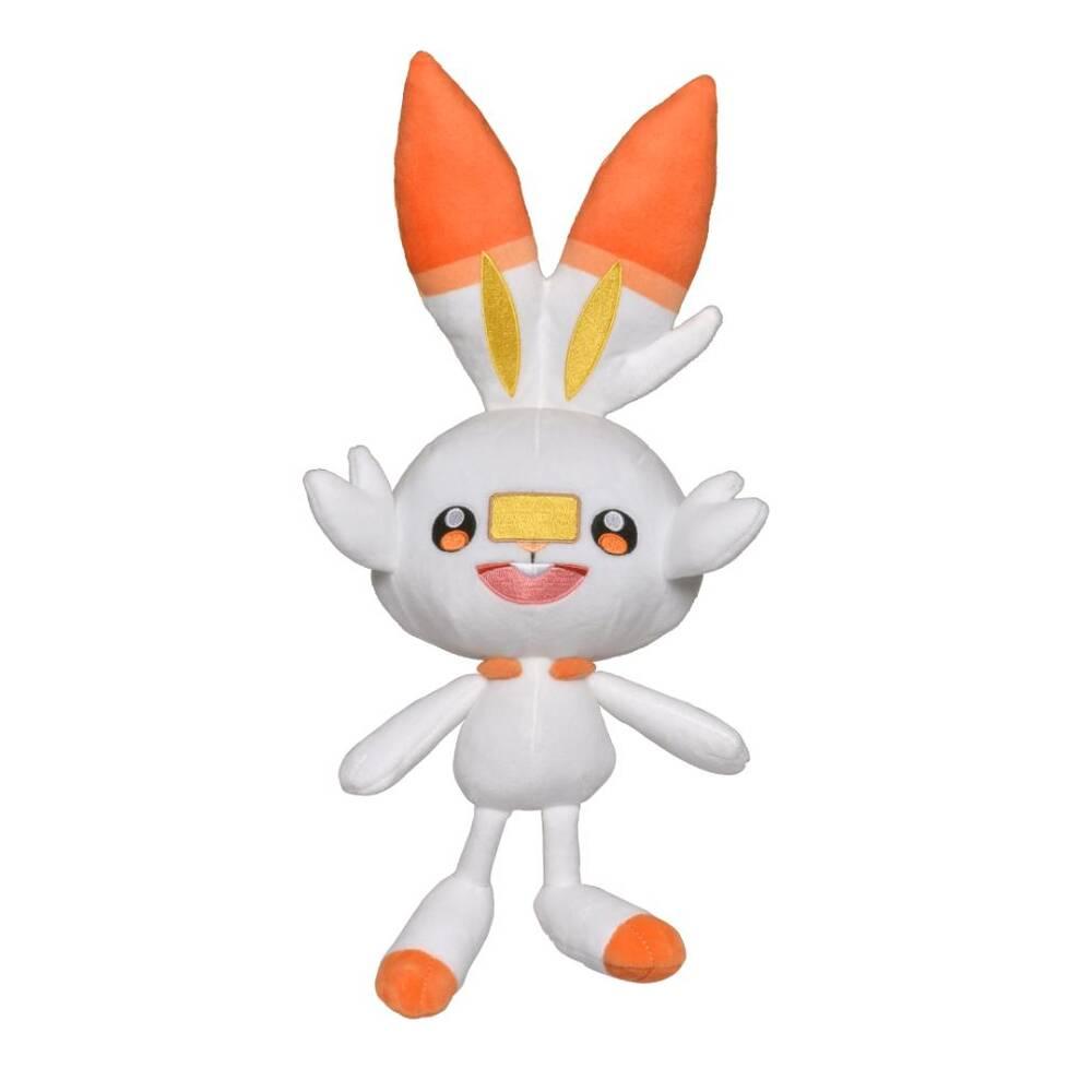 Pokémon Sword & Shield knuffel Scorbunny - 20 cm