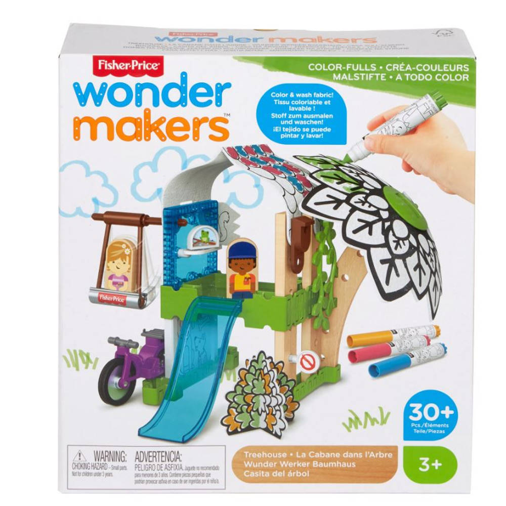 Fisher-Price Wonder Makers kleurrijk boomhuis