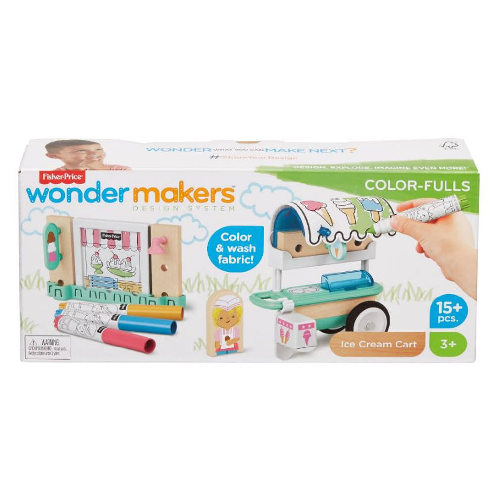 Fisher-Price Wonder Makers kleurrijke ijsjeskraam