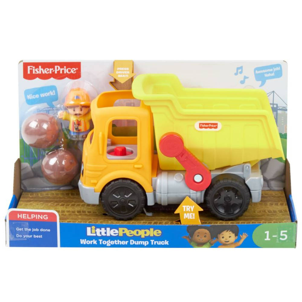 Fisher-Price Little People truck