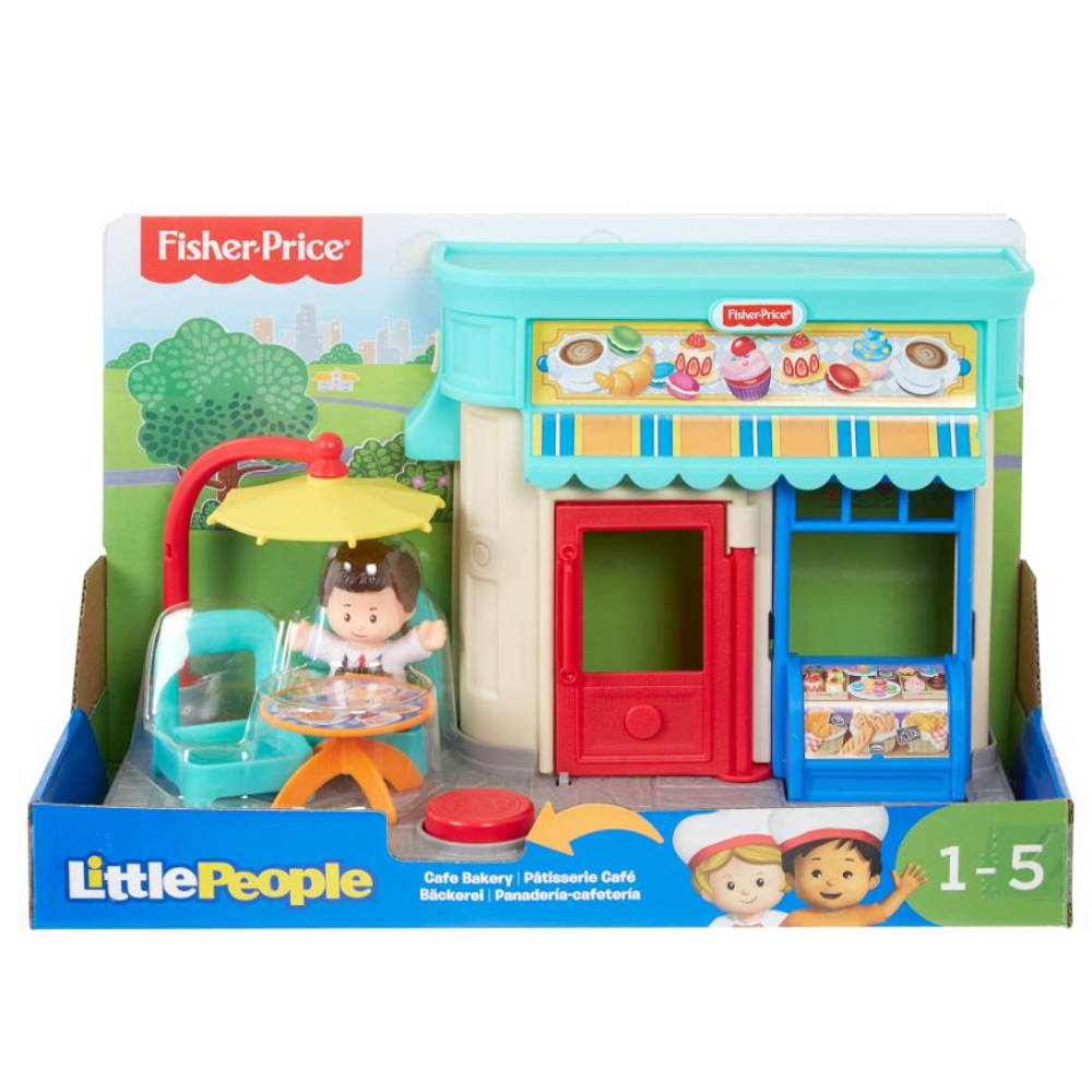 Fisher-Price Little People bakkerspeelset